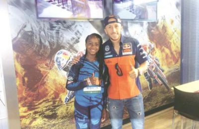 ICYMI: Motocross Rider Tanya Muzinda In Belgium
