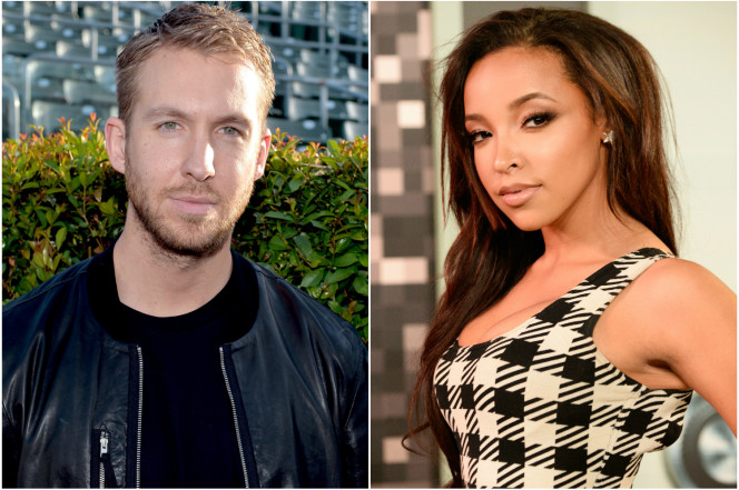 Tinashe Is Now Dating Calvin Harris