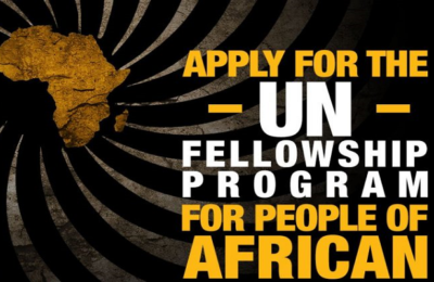 2017 Fellowship Programme for People of African Descent