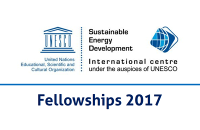 UNESCO/ISEDC Co-Sponsored Fellowships Programme 2017