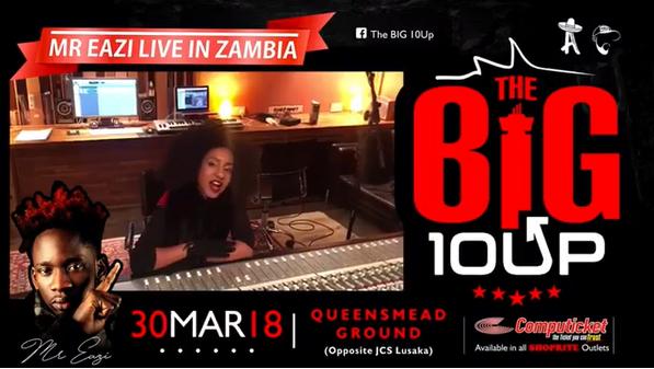 Ammara to Perform Alongside Nigeria's Mr Eazi