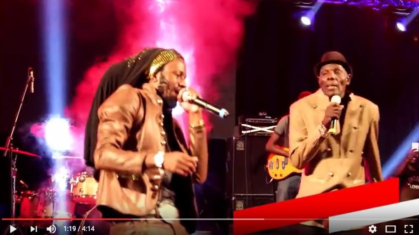 Watch Oliver Mtukudzi & Winky D Perform Panorwadza Moyo Live