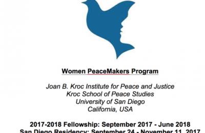 Women PeaceMakers Program 2017 for Female Peacebuilders