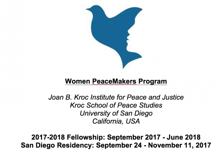 Women PeaceMakers Program 2017 for Female Peacebuilders