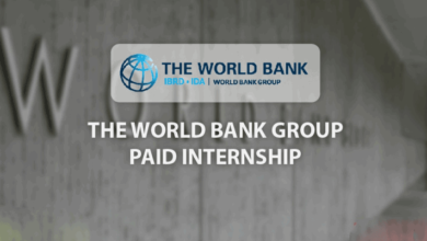 World Bank Group Summer Internship Program 2019