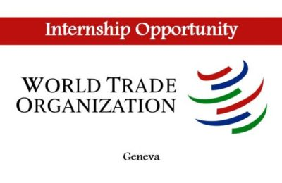 World Trade Organization Paid Internship Program 2017