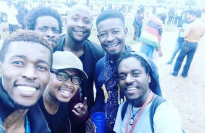 Zim Celebs Show Support At Solidarity March