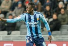 Zim Footballer Kadewere Makes His Mark in Sweden