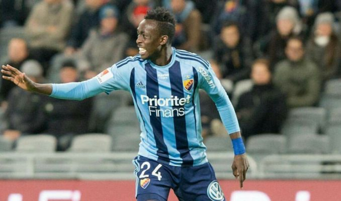 Zim Footballer Kadewere Makes His Mark in Sweden