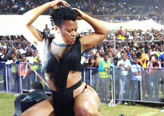 Zodwa Wabantu Permitted to Perform At Harare International Carnival