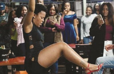 Zodwa Wabantu Not Happy About ZTA's 'Panty' Request