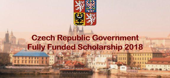 Czech Republic Government Scholarship 2018