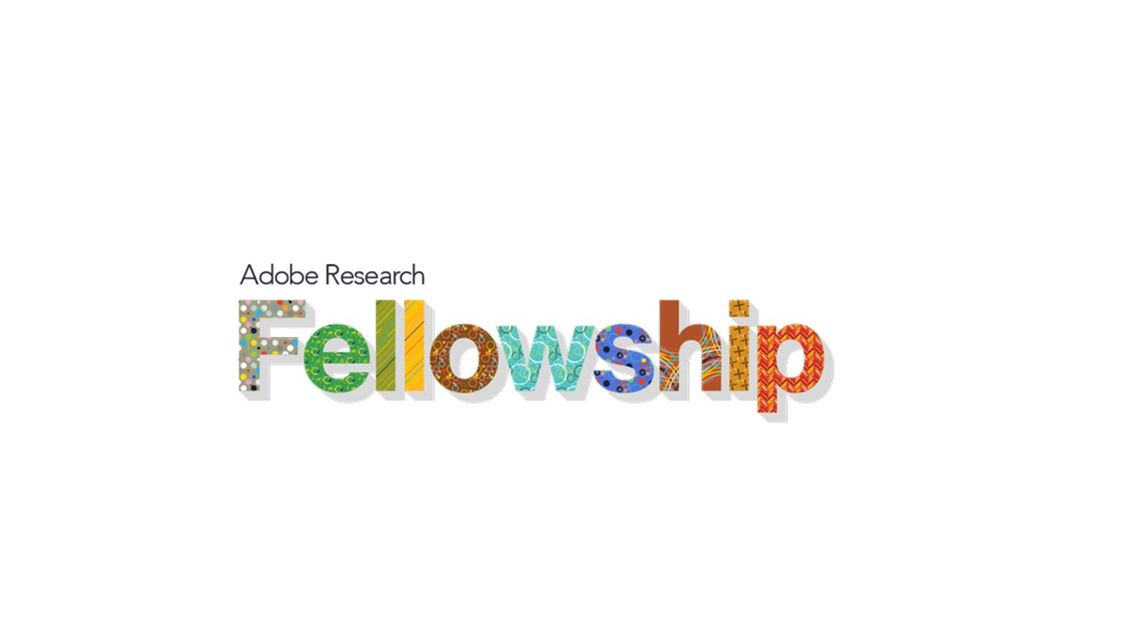 Adobe Research Fellowship 2018 for Graduate Students Worldwide