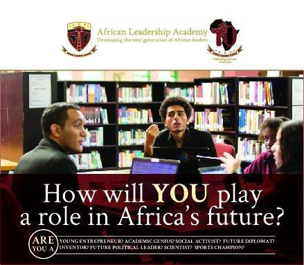 African Leadership Academy (ALA) 2018