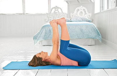 5 Poses To Do Before Bed To Help Your Body Change