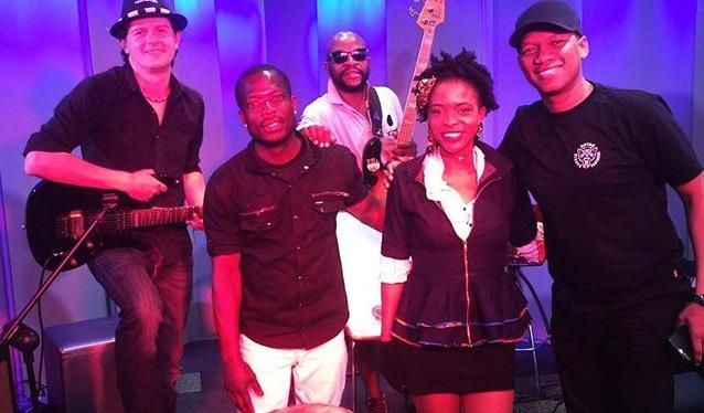 Watch! SA Based Singer Crimson Blu On Kaya FM