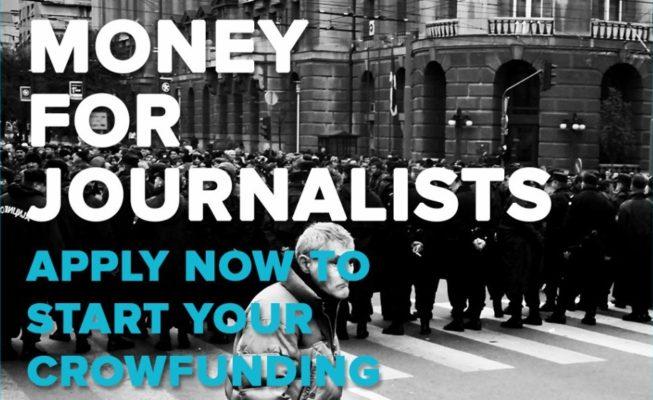 Press Start Crowdfunding for Journalists