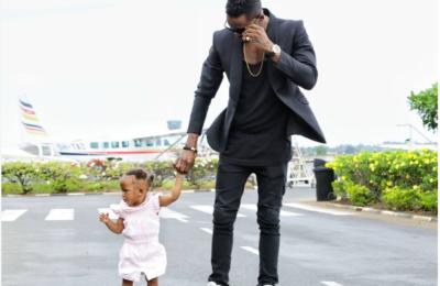 Diamond Platinumz Shares A Cute Video Of Daughter Tiffah Blowing Him Kisses