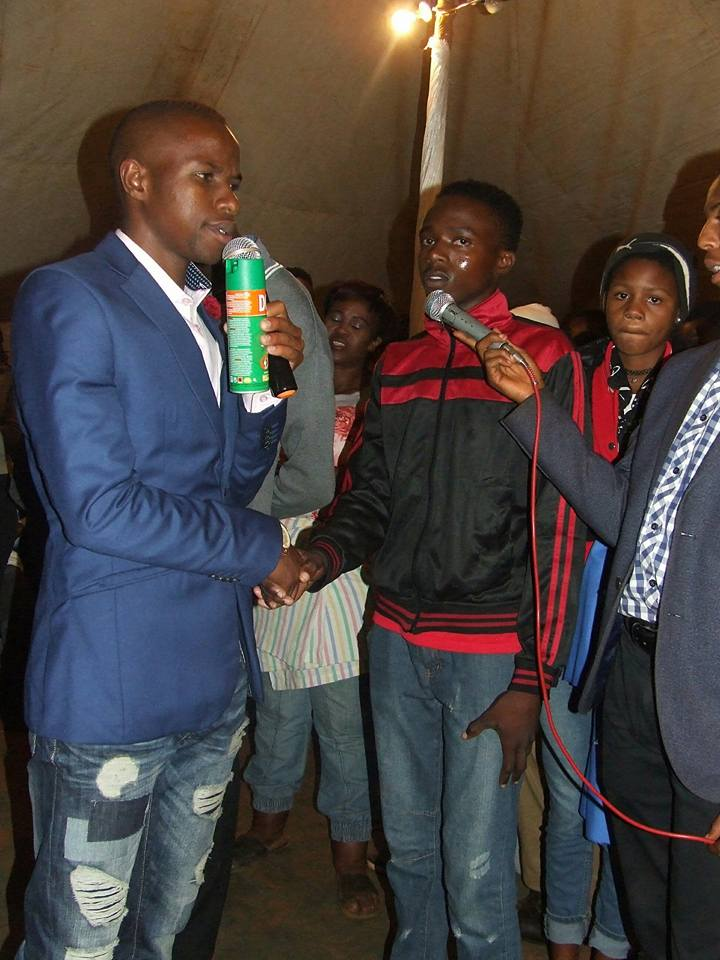 Pics: Limpopo Prophet Sprays Doom On Congregants For Healing