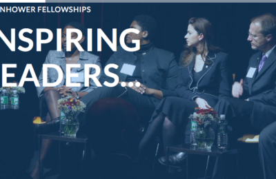 Eisenhower Fellowships' Global Program 2018 for Mid-Career Professionals