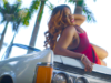 Cynthia Mare Sizzles In Red In 'Flava' Music Video