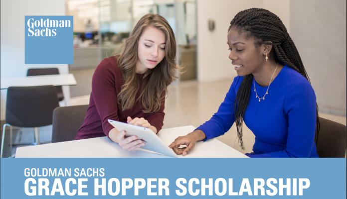 Goldman Sachs Grace Hopper Scholarship 2017 for Female Students