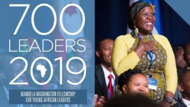 Mandela Washington Fellowship for Young African Leaders 2019