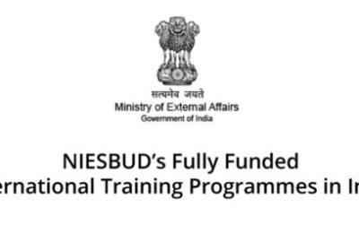 International Training Programmes in India 2017