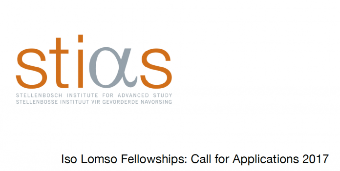 Iso Lomso Fellowships 2017 for Early Career African Researchers