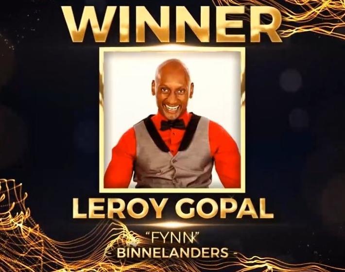 Leroy Gopal Wins Soapie Award