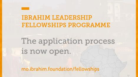 Mo Ibrahim Foundation Leadership Fellowship Program 2018