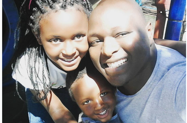 Check Out: Ngoni Kambarami Shares Pics Of His Totally Adorable Kids