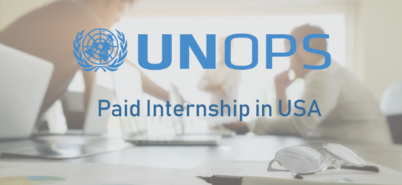 Paid Internship Opportunity at UNOPS in USA 2018