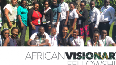 Segal Family Foundation African Visionary Fellowship for Young African Changemakers 2018