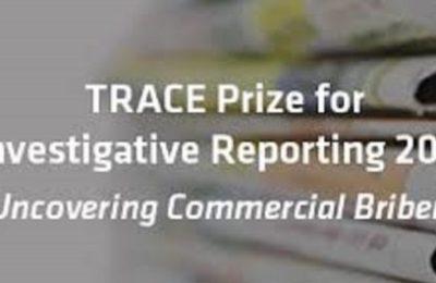 TRACE Prize for Investigative Reporting 2018