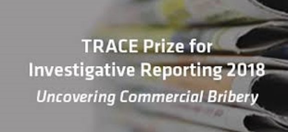 TRACE Prize for Investigative Reporting 2018