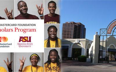 Mastercard Foundation Scholars Program at Knust-Asu 2017