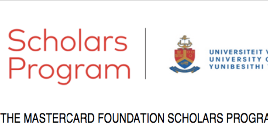 University of Pretoria MasterCard Foundation Undergraduate & Postgraduate Scholars Program
