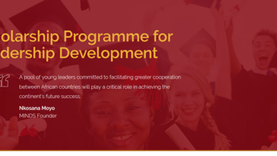 The Mandela Institute for Development Studies (MINDS) Pan-African Scholarship 2019