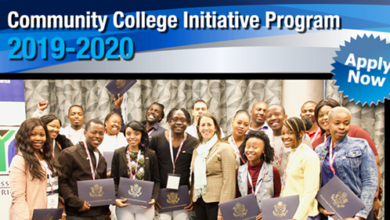 U. S. Department of State exchange Community College Initiative (CCI) Program 2019/2020
