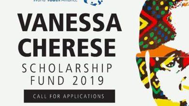 World Youth Alliance (WYA) Africa Vanessa Cherese Scholarship 2019