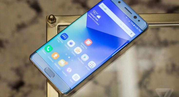 Samsung Brings Back Galaxy Note 7