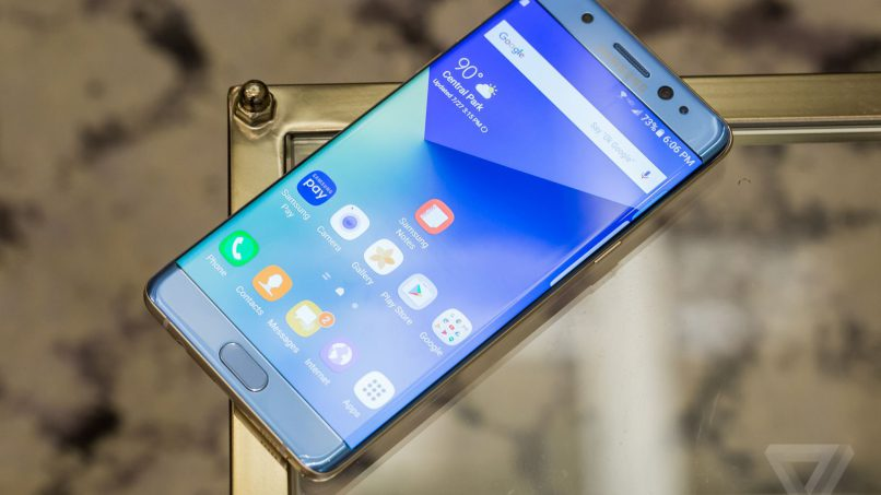 Samsung Brings Back Galaxy Note 7