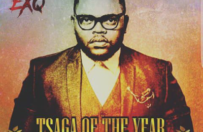 Ex Q Accepts Award On New Single 'Tsaga of The Year'