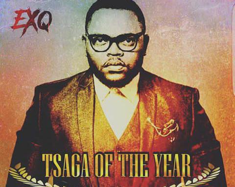 Ex Q Accepts Award On New Single'Tsaga of The Year'