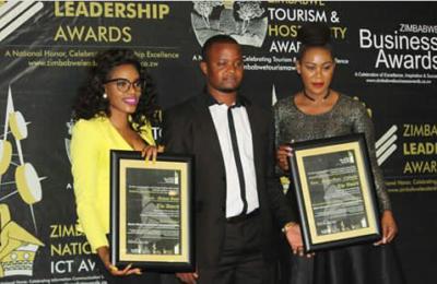 Pics! Zim Celebs Win at Zimbabwe Business Awards
