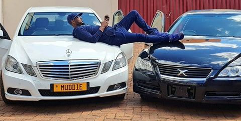Pics! Mudiwa Adds Another Car to His Collection