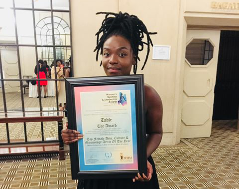 Tahle WeDzinza Awarded at the Women's Business and Leadership Awards