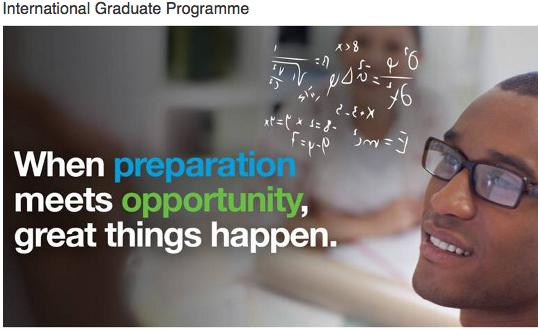Standard Chartered Bank International Graduate Programme 2018