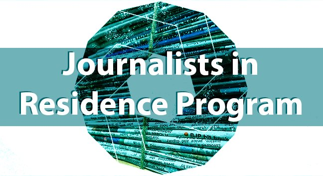 Stigler Center Journalists in Residence Program 2018